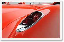 Early Corvette Headlights and Taillights